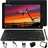 Tablet 10.0 Pulgadas GOODTEL 4G Android 8.0 NEGRO Tablets PC con 3GB RAM + 32GB ROM y 8000mAh Batería & 5.0 MP + 8.0 MP HD la Cámara , Dobles SIM y TF Card Apoyo Tablet (WI-FI,GPS Bluetooth,FM Radio)