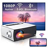 Proyector WiFi Bluetooth , Artlii Enjoy3 Proyector 1080P Nativo Full HD, Soporta Dolby AC3, 2.4G/5G WiFi, para Smartphone Android/ iOS/PS5