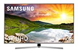 Samsung 50NU7475 - Smart TV de 50' 4K UHD HDR (Pantalla Slim, Quad-Core, 3 HDMI, 2 USB), Color Plata (Eclipse Silver)